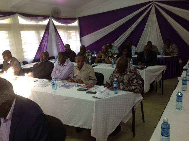 A section of General Secretaries from Affiliate Unions attending the Meeting at TMLC