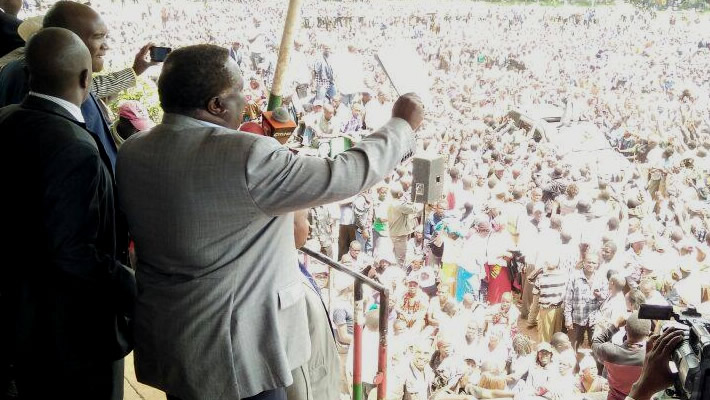 Bro. Atwoli with Kericho Governor Address a Mammoth Crowd of Workers