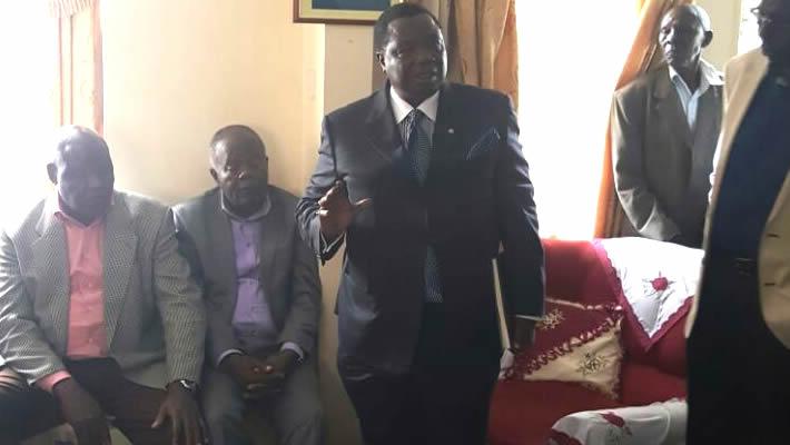 Atwoli Leads COTU-K-Delegation to Condole Munyaos Widow