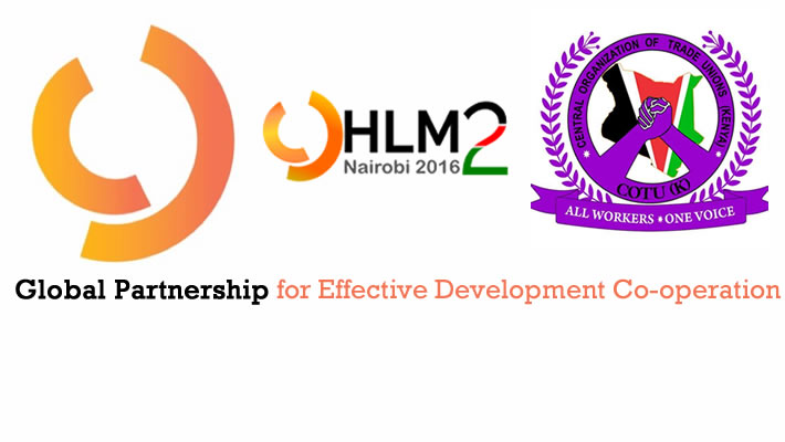 Kenya is the host of the Second High-Level Meeting (HLM2) - Global Partnership for Effective Development Co-operation (Global Partnership)