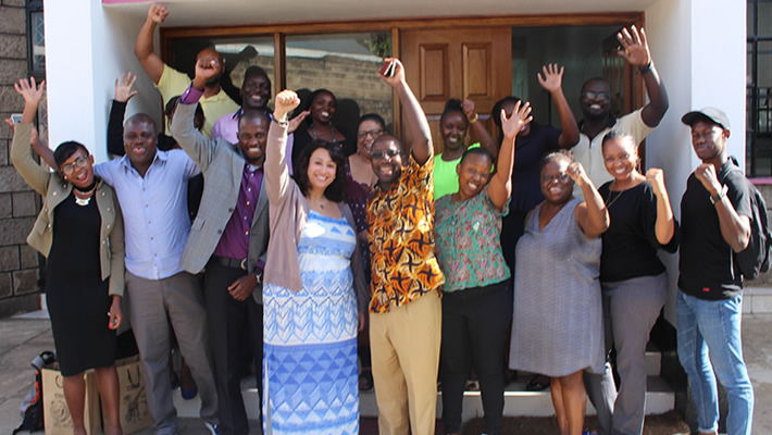 Youth Trade Unionists from AFL-CIO - USA & COTU - Kenya hold Bilateral Talks