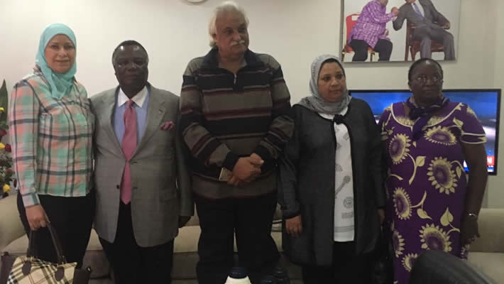 A delegation from GTUWA, Egypt Visits COTU-Kenya