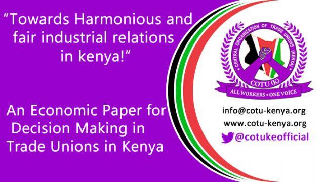 industrial relation in kenya