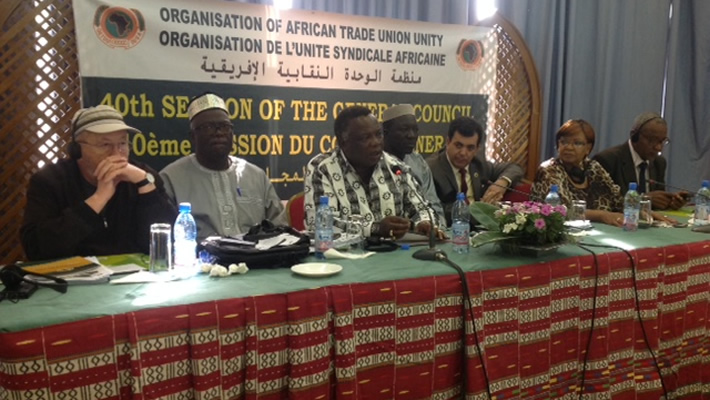 OATUU President Bro. Atwoli Presides over the 11th Ordinary Congress in Bamako, MALI.