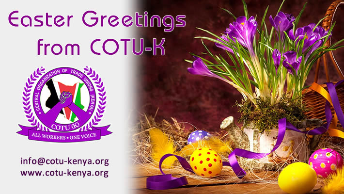 Easter Greetings from COTU-K