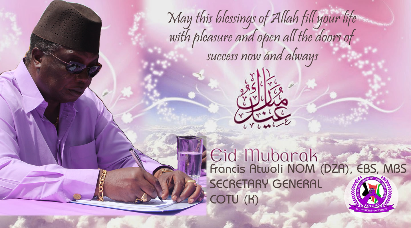 Bro Atwoli Wishes Muslims Eid Ul Adha Greetings Central