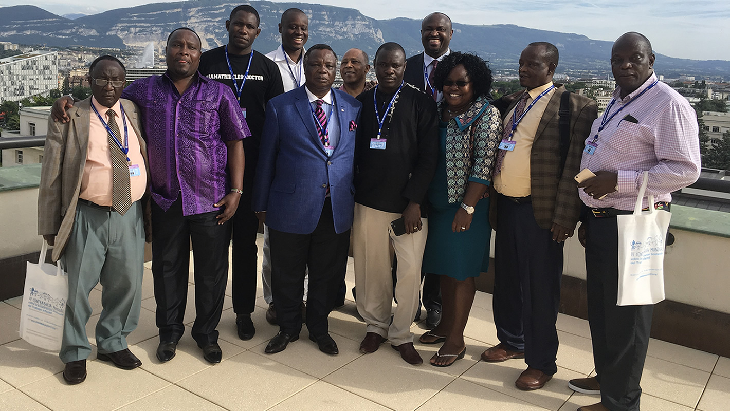 COTU Kenya Officials attending proceedings at the ILO ILC Committee Meeting.