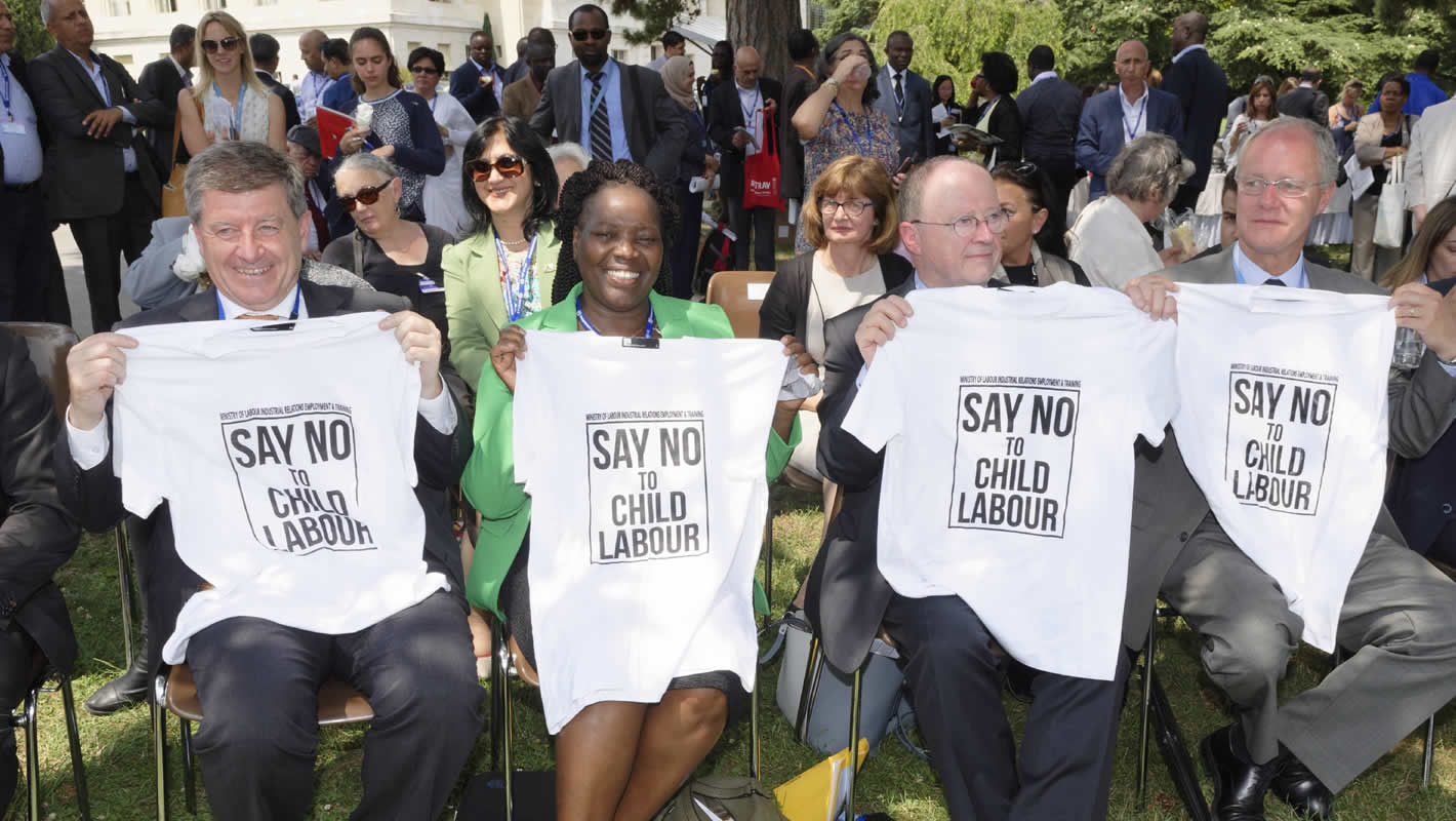 Monday 12 June - World Day Against Child Labour