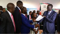 KMPDU Signs Recognition Agreement and CBA with COG representing all 47 Counties.
