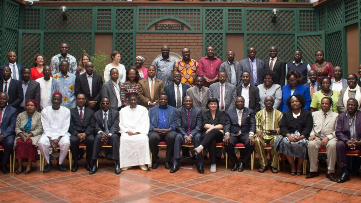 Participants of the International Trade Union Confederation (ITUC) Wage Floor Forum, Africa