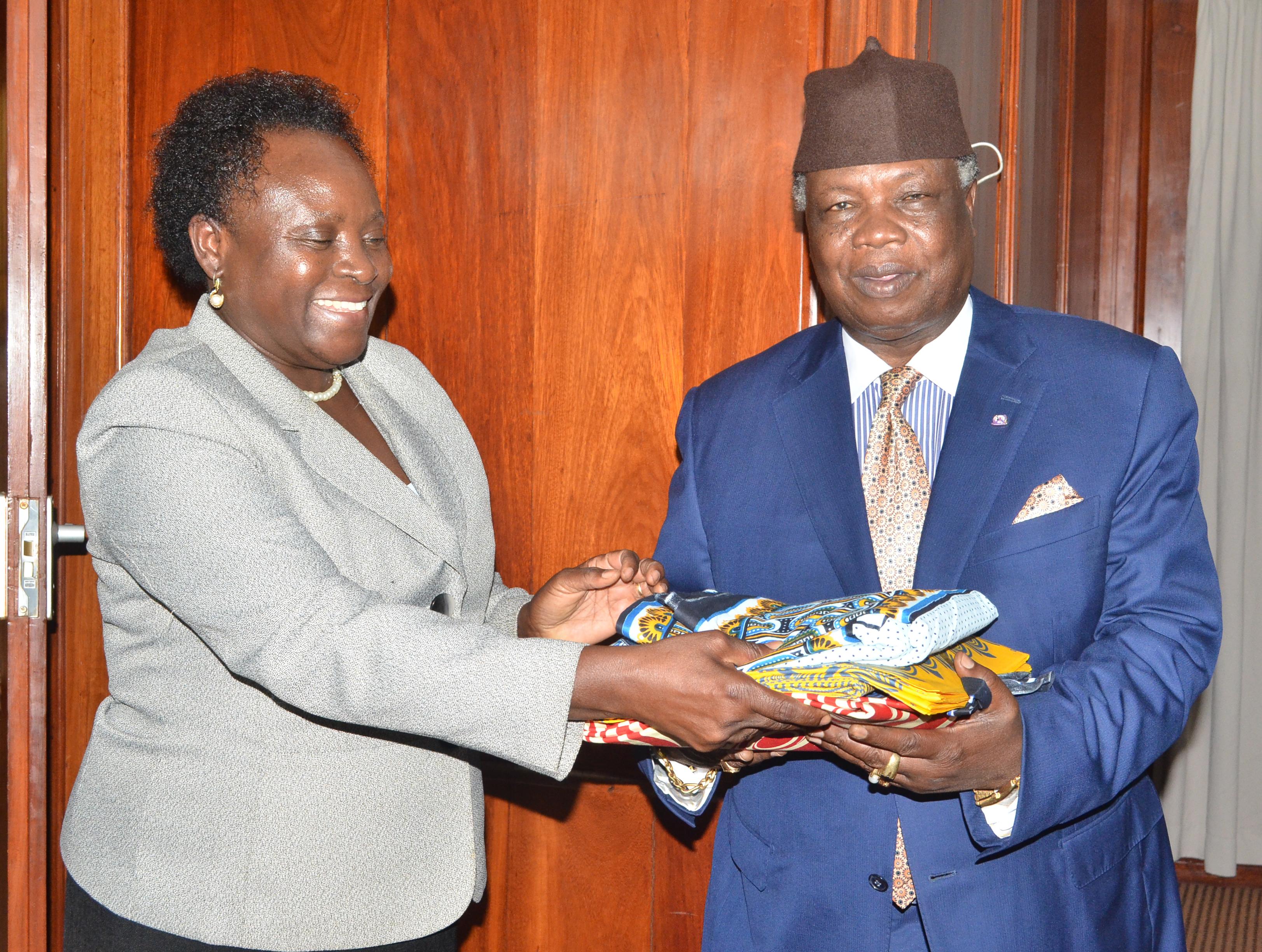 COTU (K) Secretary General Francis Atwoli Feted In Arusha
