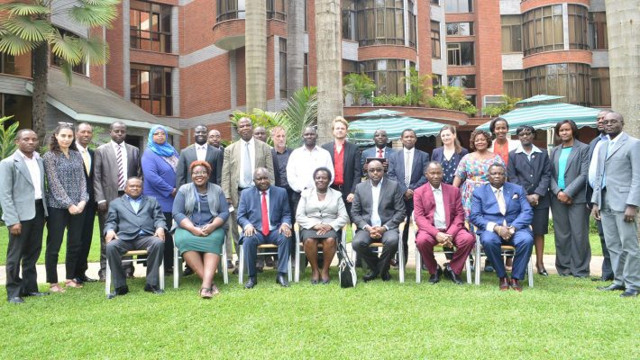 Bro. Atwoli in Arusha for a Regional Conference on Social Dialogue in EAC