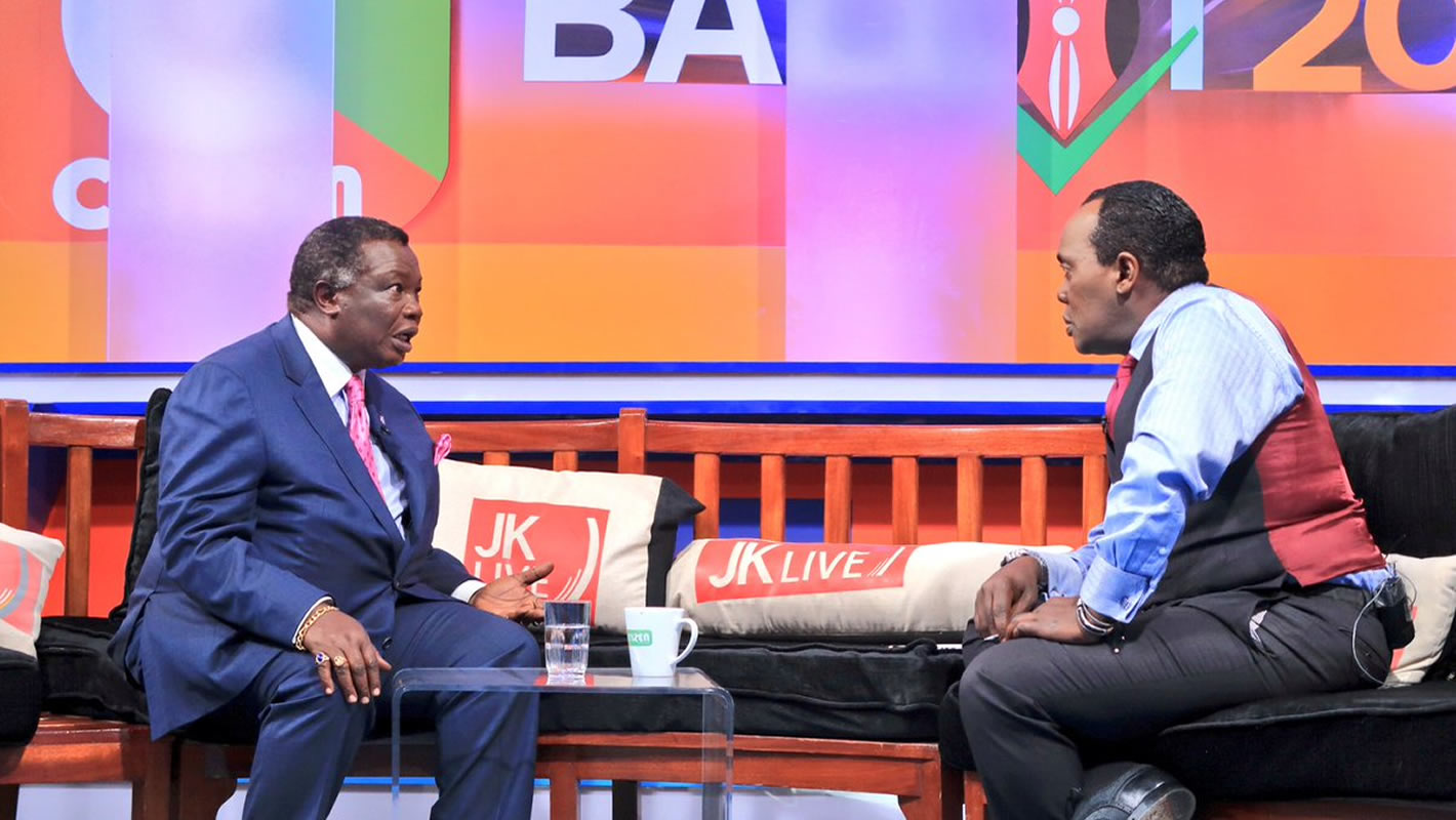 COTU-K Sec Gen Bro. Atwoli on Citizen TV JKLive Show
