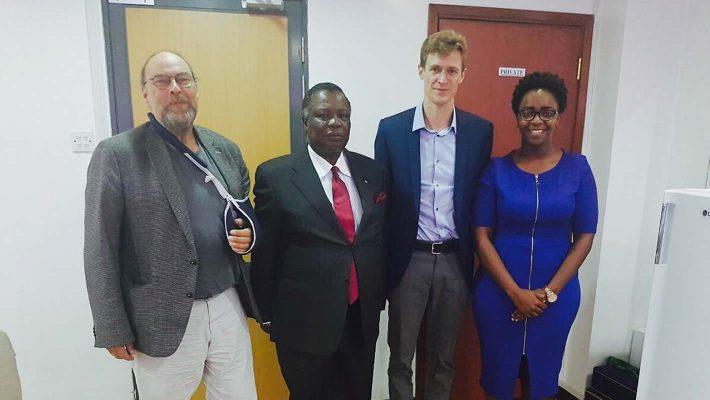 FES Kenya Resident Representative Bro. Henrik Maihack Meets COTU-K Sec Gen Bro. Atwoli