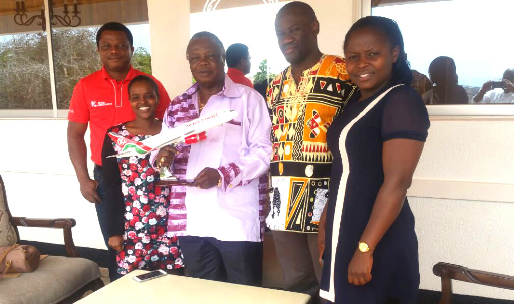 Atwoli Receives Recognition Award From Kenya Airways