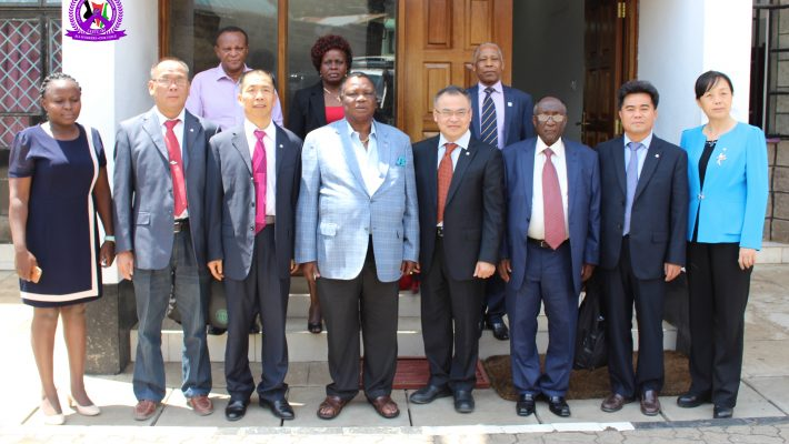 Chineese Delegation of Trade Unionists Visits COTU-K