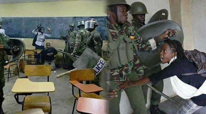 Bro. Atwoli Condemns Police Brutality Against University Students