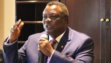 Bro. Atwoli in Brussels Belgium for EU and ITUC Meetings