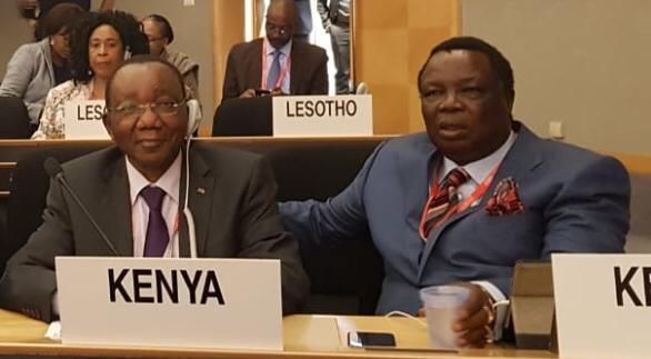 The 108th ILC, International Labour Conference in Geneva
