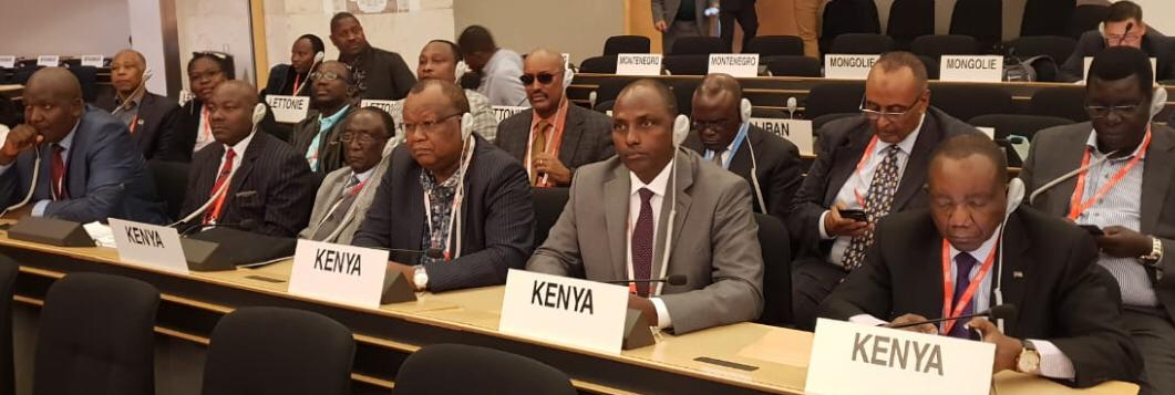 The Kenyan Delegation to 108th ILC